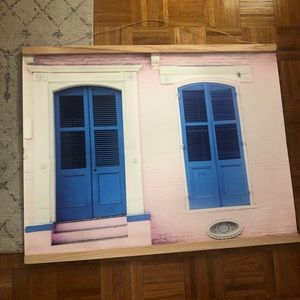 Urban outfitters New Orleans art print 30x40 inch